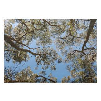 Gum Trees against a Blue sky Placemat