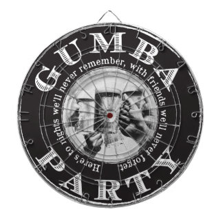 Gumba Party -Black Logo Dartboard