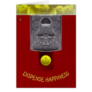 Gumball Happy Face Note Card
