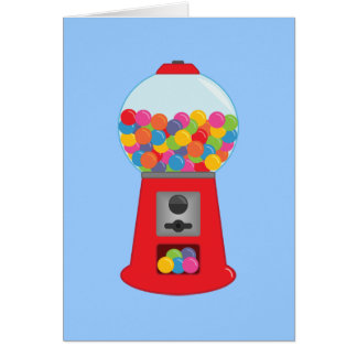 Gumball Machine Note Cards
