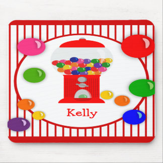 Gumball Machine Personalized Mousepad