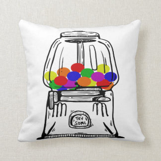 Gumball Machine Pillow