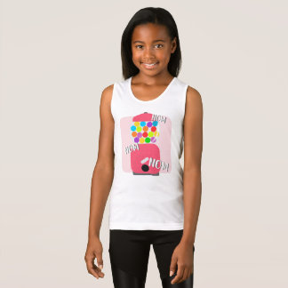 Gumball Machine Shirt, Nom, Candy Girls Tank Top