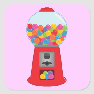 Gumball Machine Stickers