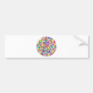 Gumball Vortex Bumper Sticker