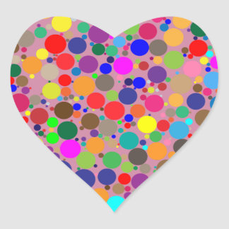 Gumball Vortex Heart Sticker