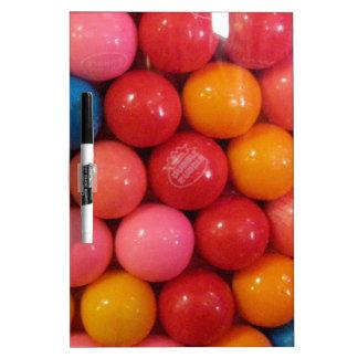 Gumballs Dry-Erase Whiteboard