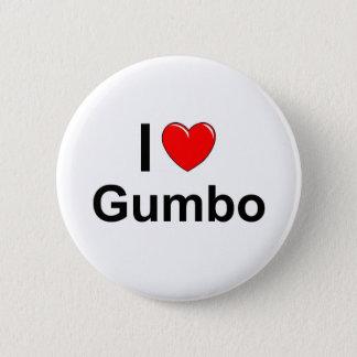 Gumbo 2 Inch Round Button