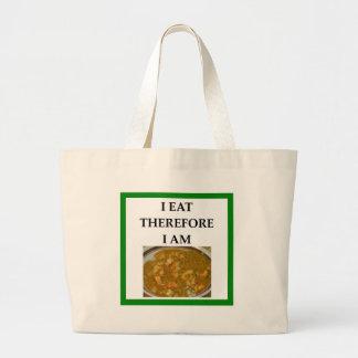 gumbo large tote bag