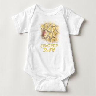Gumdrop Day - 15th February Appreciation Day Baby Bodysuit