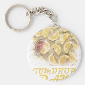 Gumdrop Day - 15th February Appreciation Day Basic Round Button Keychain
