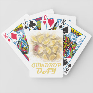 Gumdrop Day - 15th February Appreciation Day Poker Deck