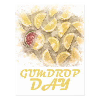 Gumdrop Day - 15th February Appreciation Day Postcard