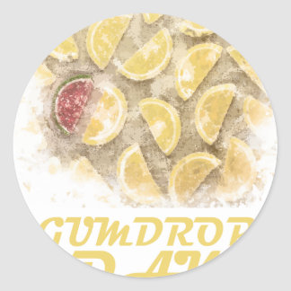 Gumdrop Day - 15th February Appreciation Day Round Sticker