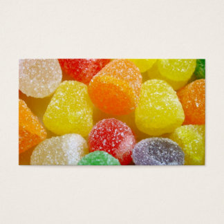 Gumdrops Candy Business Card