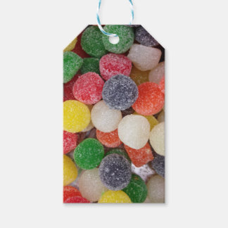 Gumdrops candy pack of gift tags