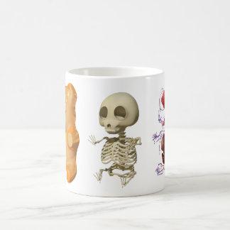 Gummi Bear Anatomy Triptic Mug