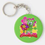 Gummibär Floral Keychain