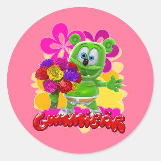 Gummibär Floral Sticker