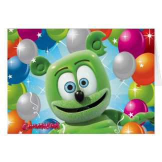 Gummibär (The Gummy Bear) Birthday Card