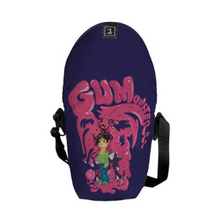 GumMonsterrr Rickshaw Messenger Bag