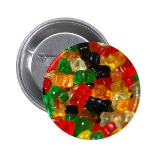 Gummy Bear Pinback Buttons