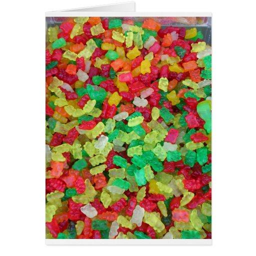 Gummy Bear Card