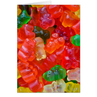 Gummy Bear Card
