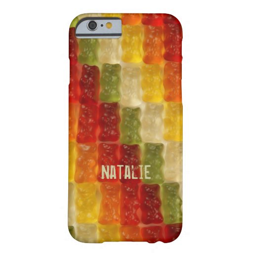 gummy bear barely there iPhone 6 case