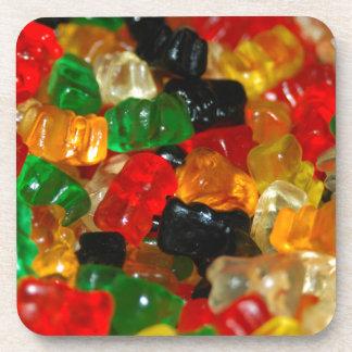 Gummy Bear Drink Coasters