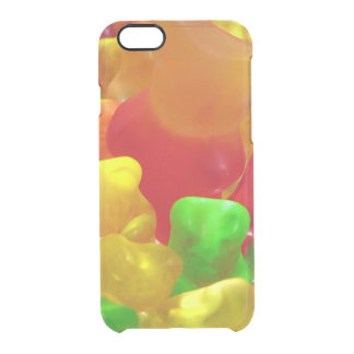 Gummy Bear Crowd Clear iPhone 6/6S Case