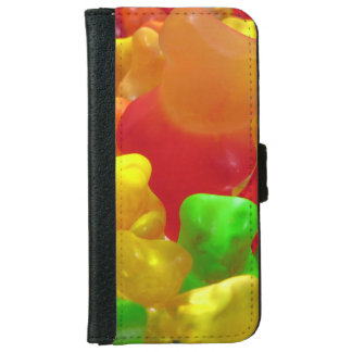 Gummy Bear Crowd iPhone 6 Wallet Case