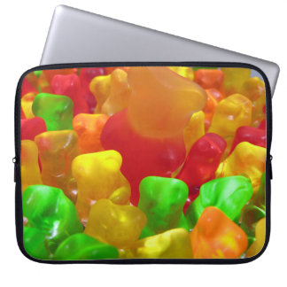 Gummy Bear Crowd Laptop Computer Sleeve