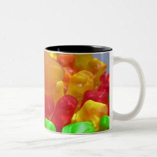 Gummy Bear Crowd Two-Tone Coffee Mug