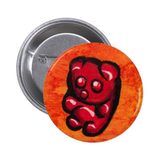 Gummy Bear Flair 2 Inch Round Button