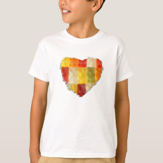 gummy bear heart T-Shirt