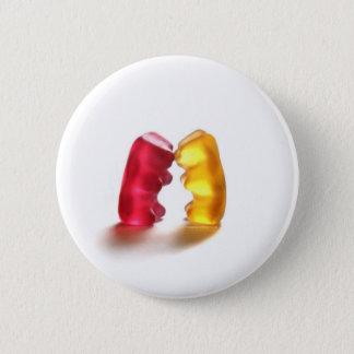 gummy bear kiss 2 inch round button