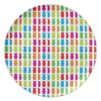 Gummy Bear Melamine Plate