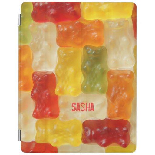 gummy bear patchwork iPad cover
