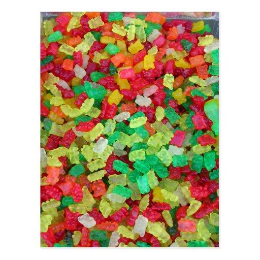 Gummy Bear Post Card