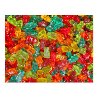 Gummy Bear Postcard