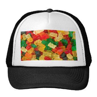 Gummy Bear Rainbow Colored Candy Trucker Hat