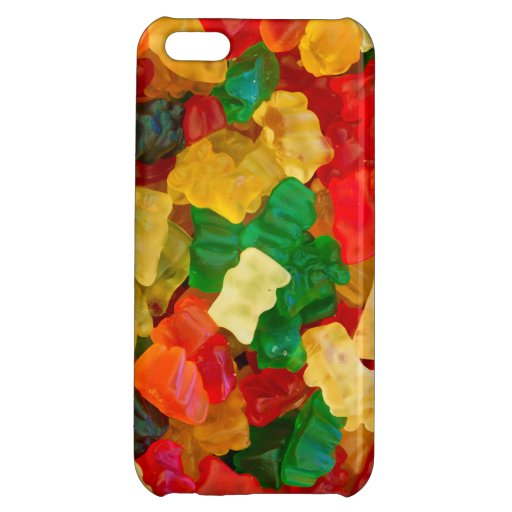 Gummy Bear Rainbow Colored Candy Cover For iPhone 5C