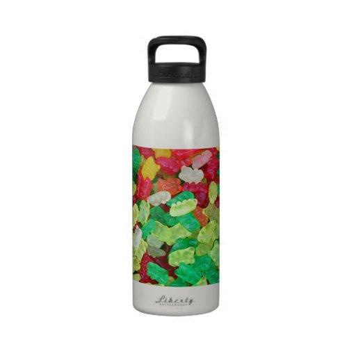 Gummy Bear Reusable Water Bottles