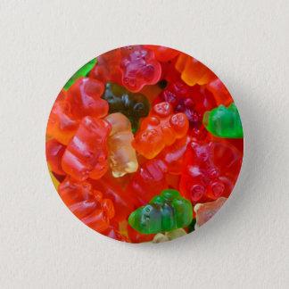 Gummy Bears 2 Inch Round Button