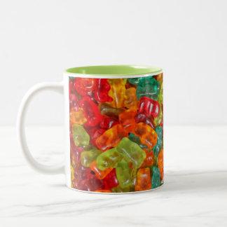 Gummy bears 2 tone mug