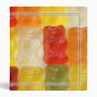 gummy bears 3 ring binder