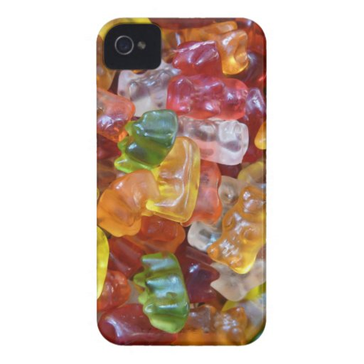 Gummy Bears Background iPhone 4 Covers