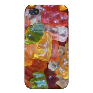 Gummy Bears Background iPhone 4/4S Cases
