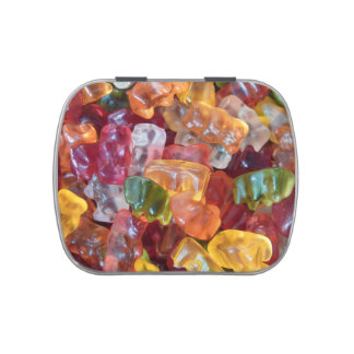Gummy Bears Candy Tin